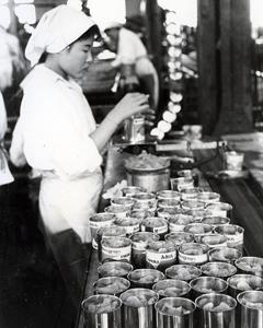 昭和30年当時の工場風景